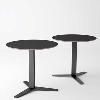 Ballenger Dining Table Base Color: Black, Top Color: Black