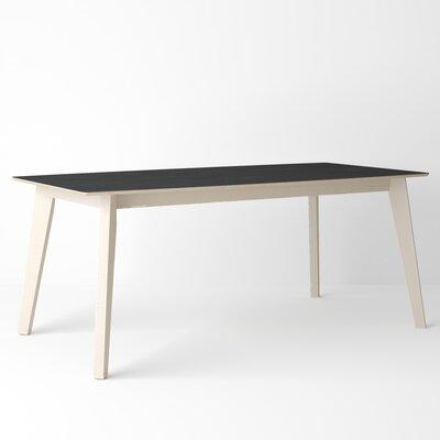 Almondsbury Extendable Dining Table Base Color: Bleached, Top Color: Basalt