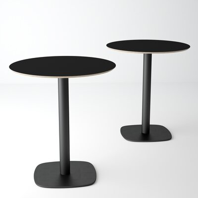 Ballester Pub Table Color: Ingo Black