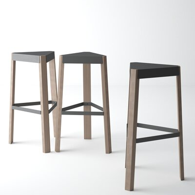 Amicus 31.5 Bar Stool Color: Anthracite