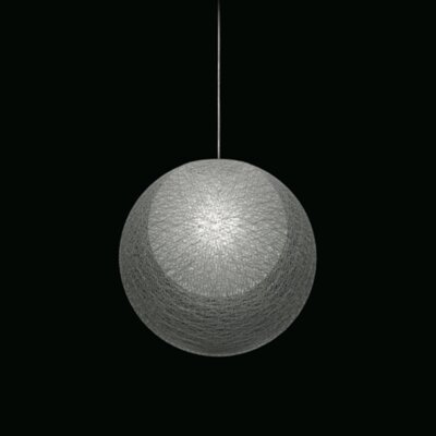 Mayuhana 2 Globe Pendant Shade Color: White
