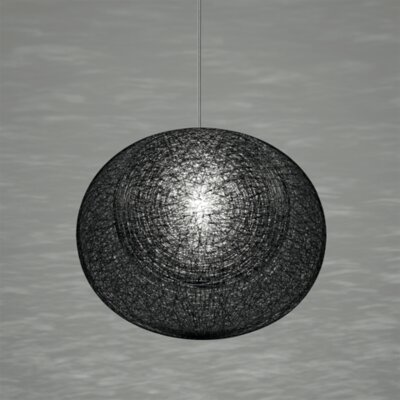 Mayuhana 2 Geometric Pendant Shade Color: Black