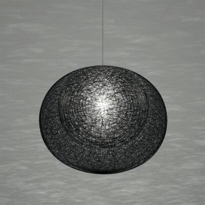 Mayuhana 2 Geometric Pendant Shade Color: Black