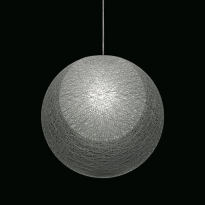 Mayuhana 2 Global Pendant Shade Color: White