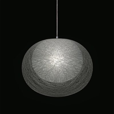Mayuhana 2 Geometric Pendant Shade Color: White