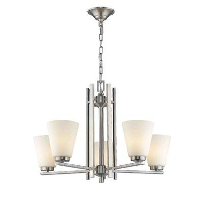 Rinehart 5-Light Candle-Style Chandelier