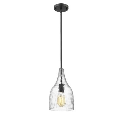 Trista 1-Light Mini Pendant Finish: Painted Bronze