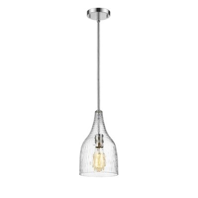 Trista 1-Light Mini Pendant Finish: Chrome