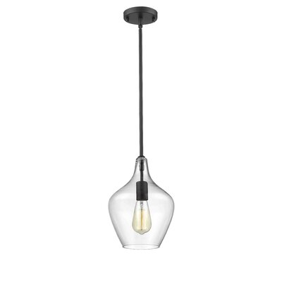 Bertram 1-Light Mini Pendant Finish: Painted Bronze