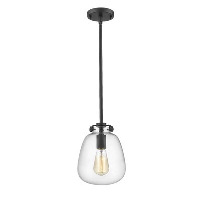 Mullen 1-Light Mini Pendant Finish: Painted Bronze