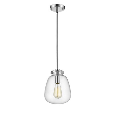 Mullen 1-Light Mini Pendant Finish: Chrome