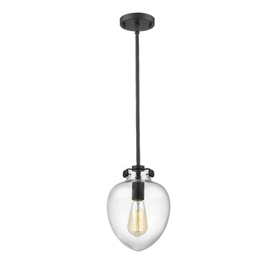 Mullenix 1-Light Mini Pendant Finish: Painted Bronze
