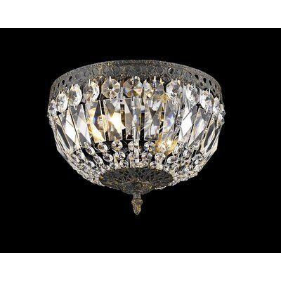 Baronets 3-Light Flush Mount