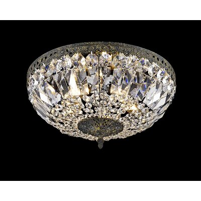 Baronets Modern 5-Light Flush Mount