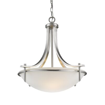 Colton 3-Light Bowl Pendant