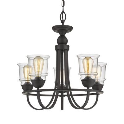 Tristian 5-Light Candle-Style Chandelier