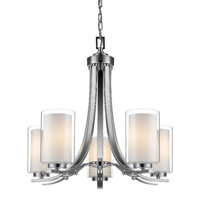 Sanne 5-Light Candle-Style Chandelier