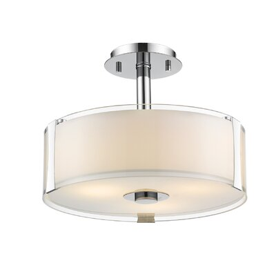 Bainbridge 3-Light Semi Flush Mount