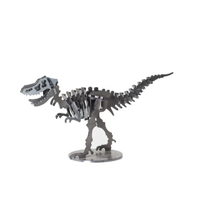 Velociraptor Metal Dinosaur 3D Puzzle Figurine PUZ-VELO