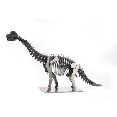Brachiosaurus Metal Dinosaur 3D Puzzle Figurine PUZ-BRON