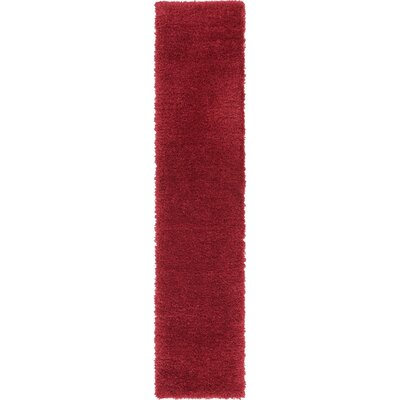 Red Area Rug Rug Size: Runner 2 x 10