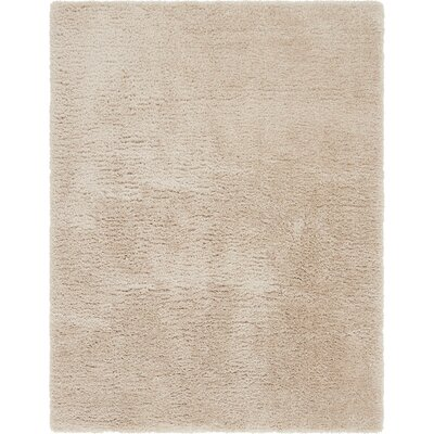 Cream Area Rug Rug Size: 9 x 12