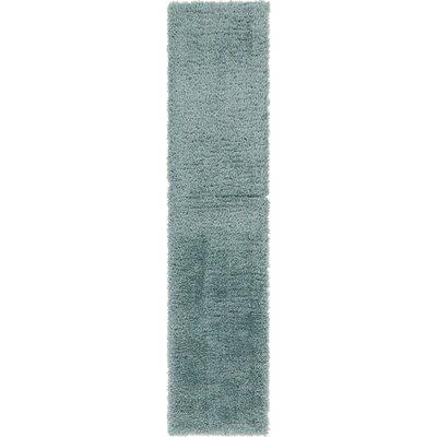 Blue Area Rug Rug Size: Runner 2 x 10
