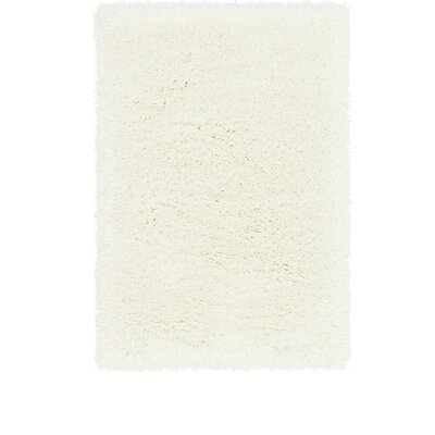 White Area Rug Rug Size: 2 x 3