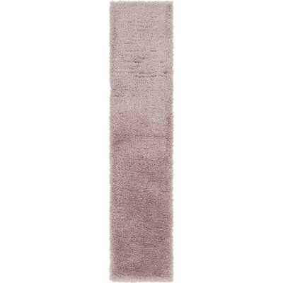 Pink Area Rug Rug Size: Runner 2 x 10