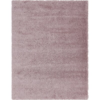 Pink Area Rug Rug Size: Rectangle 9 x 12