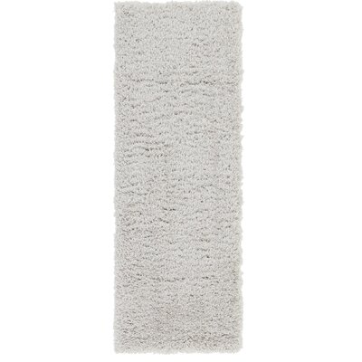 Silver Area Rug Rug Size: Runner 2 x 6