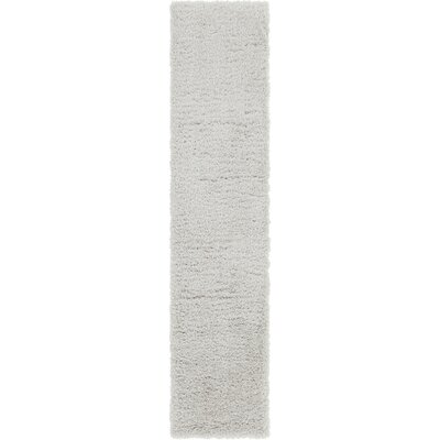Silver Area Rug Rug Size: Runner 2 x 10