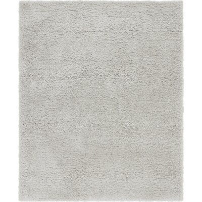 Silver Area Rug Rug Size: 8 x 10