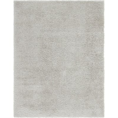 Silver Area Rug Rug Size: 9 x 12