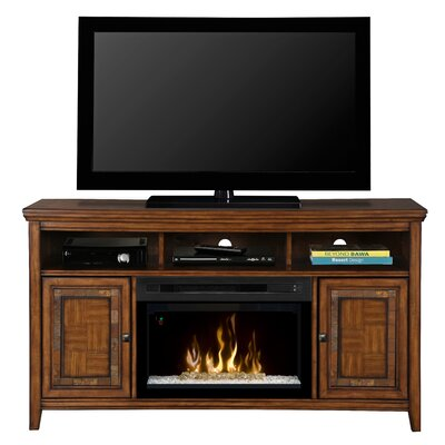 Lynbrook TV Stand with Electric Fireplace Insert Style: Acrylic Ice
