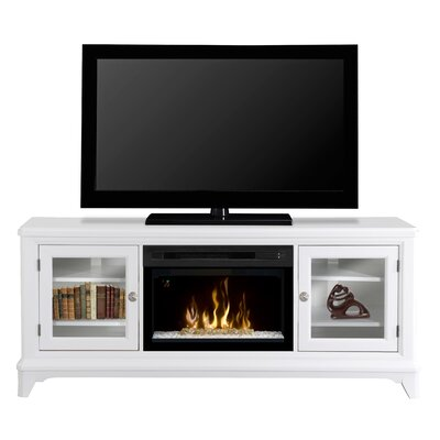 Winterstein TV Stand with Electric Fireplace Insert Style: Acrylic Ice