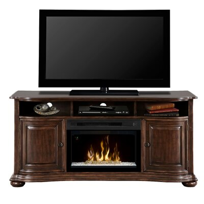 Henderson TV Stand with Electric Fireplace Insert Style: Acrylic Ice