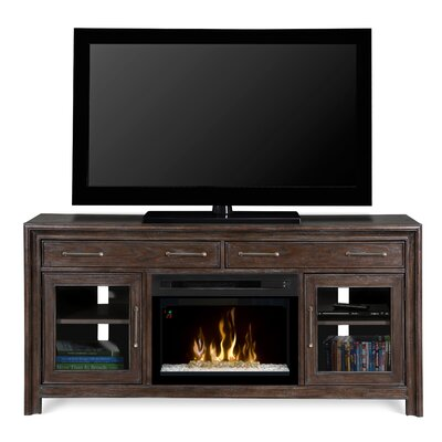 Woolbrook TV Stand with Electric Fireplace Insert Style: Acrylic Ice