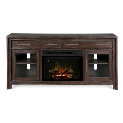 Woolbrook TV Stand with Electric Fireplace Insert Style: Realogs