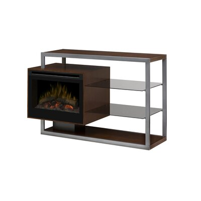 Hadley 53 TV Stand with Fireplace