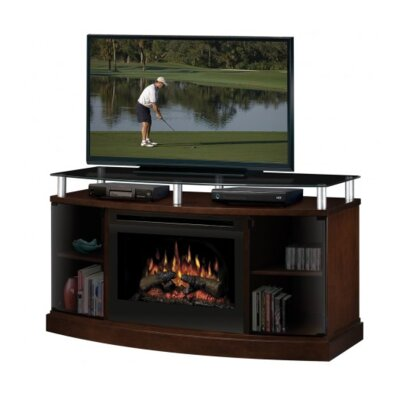 Dimplex Tv Stand With Electric Fireplace Home Furniture Game Room Media Furniture