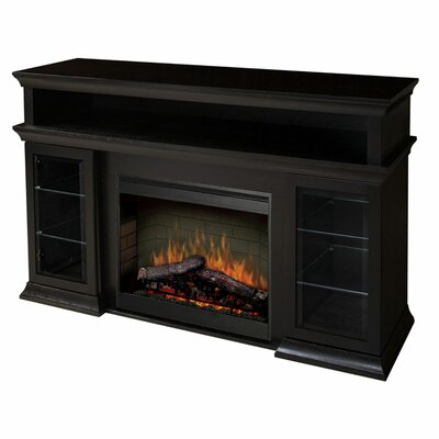 "Dimplex Bennett 66"" TV Stand with Electric Fireplace at Sears.com"