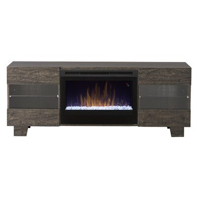 Max 62 TV Stand with Fireplace