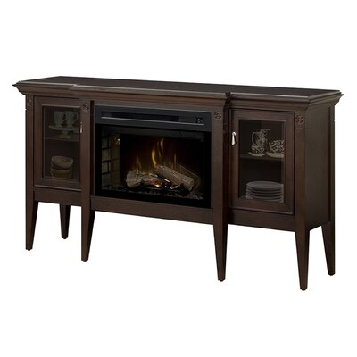 Upton 64.06 TV Stand with Fireplace
