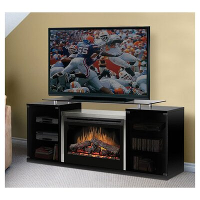 Marana 76 TV Stand with Fireplace Firebox: 33 Widescreen logset