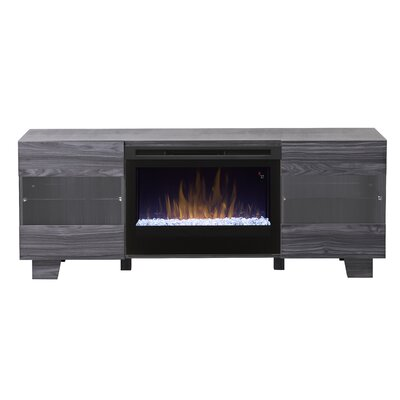 Max TV Stand with Fireplace