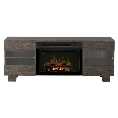 Max TV Stand with Electric Fireplace Insert Style: Realogs