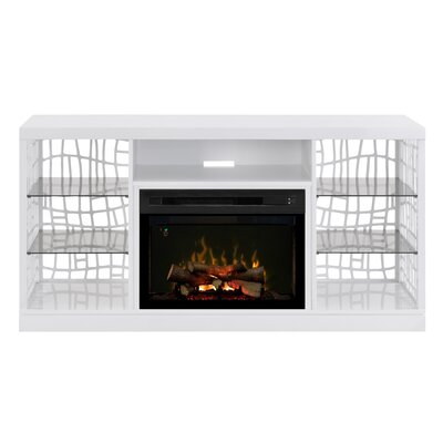 Charlotte 60 TV Stand with Fireplace Insert Style: Realogs