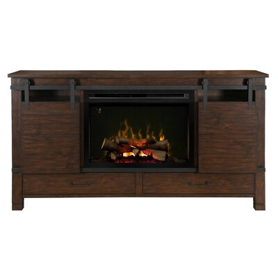 Austin TV Stand with Electric Fireplace Insert Style: Realogs