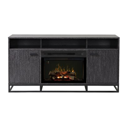 Reily TV Stand with Electric Fireplace Insert Style: Realogs